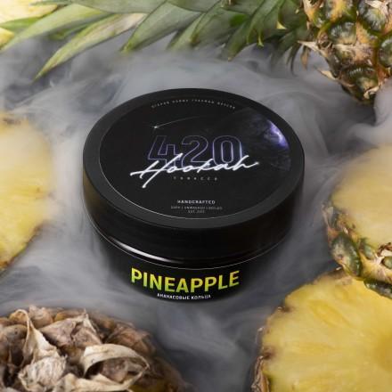 Табак 4.20 Pineapple 100 грамм (ананасовые кольца)