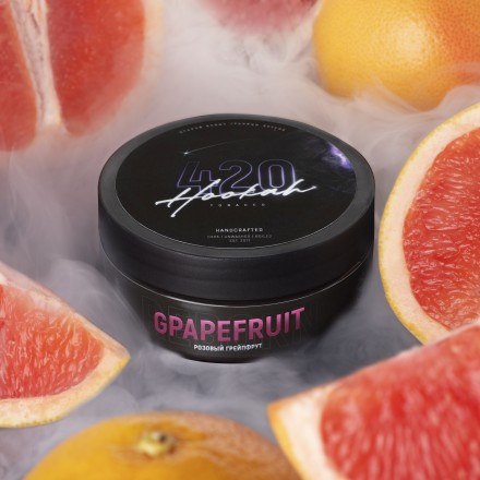 Табак 4.20 Grapefruit 250 грамм (розовый грейпфрут)