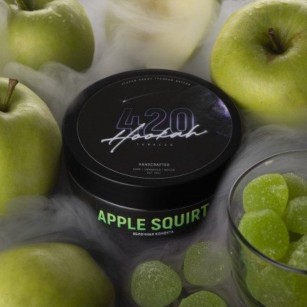 Табак 4.20 Apple Squirt 25 грамм (яблочная конфета)