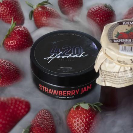 Табак 4.20 Strawberry Jam 100 грамм (клубничное варенье)