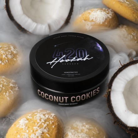 Табак 4.20 Coconut Cookies 25 грамм (кокосовое печенье)