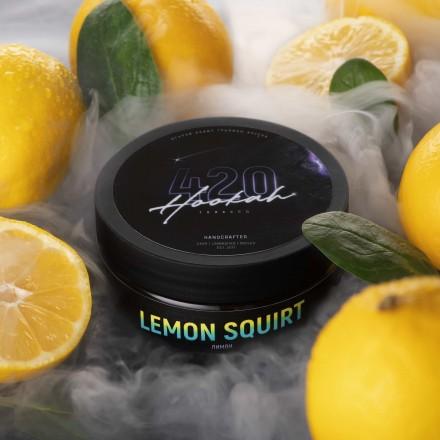 Табак 4.20 Lemon Squirt 25 грамм (лимон)