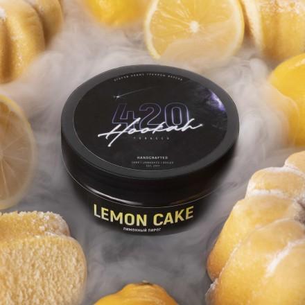 Табак 4.20 Lemon Cake 250 грамм (лимонный пирог)