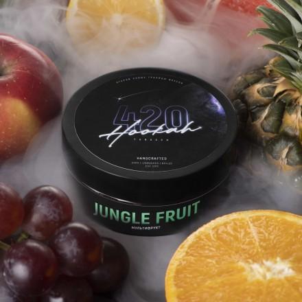 Табак 4.20 Jungle Fruit 25 грамм (мультитифрукт)