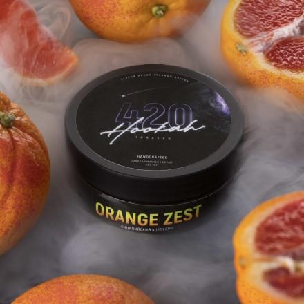 Табак 4.20 Orange Zest 100 грамм (сицилийский апельсин)