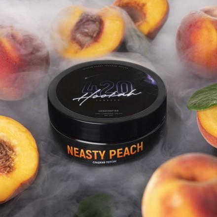 Табак 4.20 Neasty Peach 25 грамм (персиковый сок)