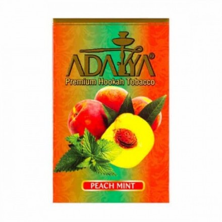 Табак Adalya Peach Mint 50 грамм (персик с мятой)