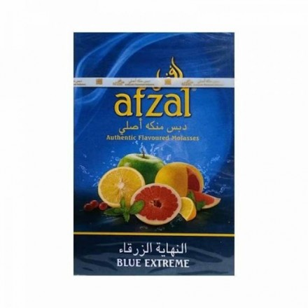 Табак Afzal Blue Extreme 50 грамм (Яблоко Дыня Барбарис Абрикос)