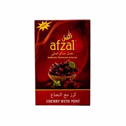 Табак Afzal Cherry With Mint 50 грамм (вишня с мятой)