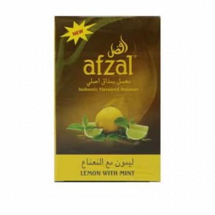 Табак Afzal Lemon With Mint 50 грамм (Лимон Мята)