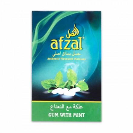 Табак Afzal GUM WITH MINT 50 грамм (Жвачка с мятой)