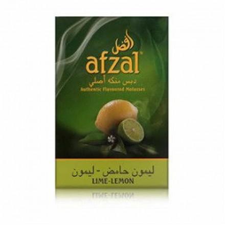 Табак Afzal Lime Lemon 50 грамм (Лайм и Лимон)