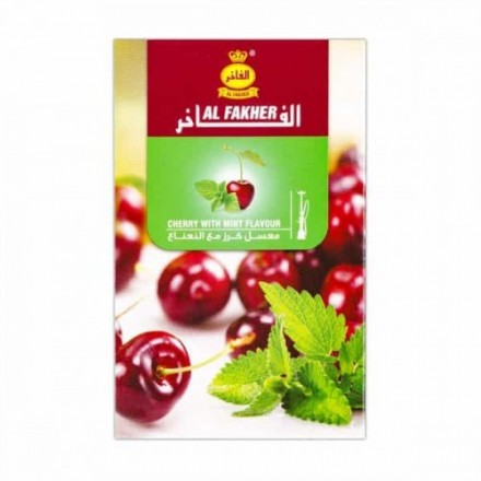 Табак Al-Fakher Cherry With Mint 50 грамм (вишня с мятой)