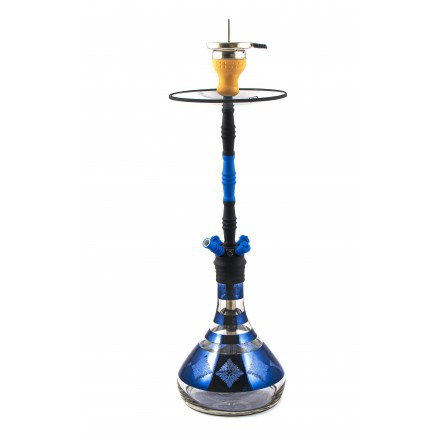 Кальян Al-Mani Z-57 black-blue