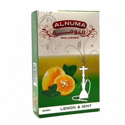 Табак Alnuma Lemon & Mint 50 грамм (лимон с мятой)