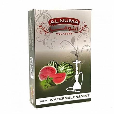 Табак Alnuma Watermelon & Mint 50 грамм (арбуз с мятой)