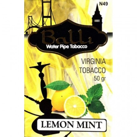 Табак Balli Lemon Mint 50 грамм (лимон мята)