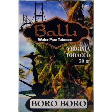 Табак Balli Boro Boro 50 грамм (грайпфрут мята лёд)