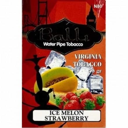Табак Balli Ice Melon Strawberry 50 грамм (дыня клубника лёд)