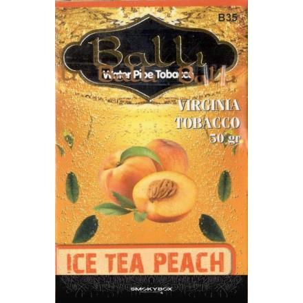 Табак Balli Ice Tea Peach 50 грамм (персиковый чай со льдом)