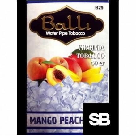 Табак Balli Mango Peach Ice 50 грамм (манго персик лёд)