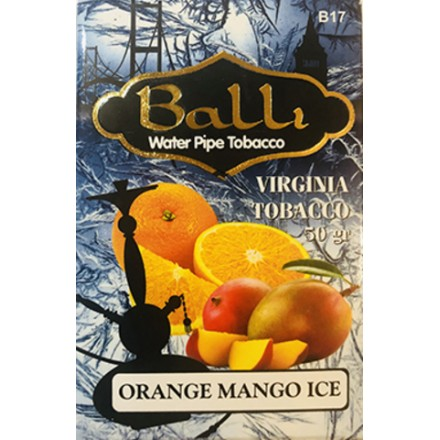 Табак Balli Orange Mango Ice 50 грамм (апельсин манго лёд)