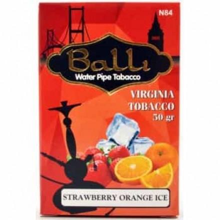 Табак Balli Strawberry Orange Ice 50 грамм (клубника апельсин лёд)