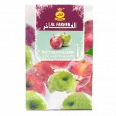 Табак Al-Fakher Frosty Two Apples 50 грамм (ледяное двойное яблоко)