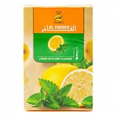 Табак Al-Fakher Lemon With Mint 50 грамм (лимон с мятой)