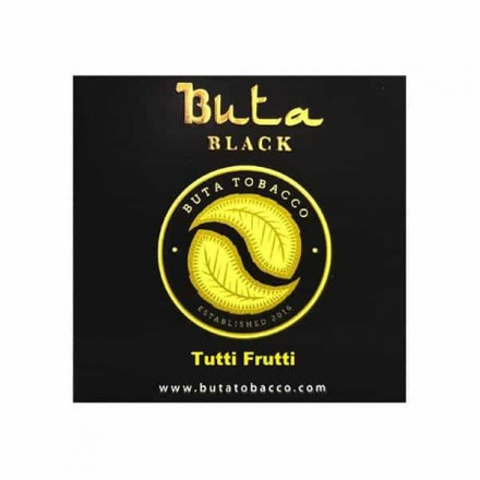 Табак Buta Black Tutti Frutti 20 грамм (Фруктовая Жевательная Резинка)