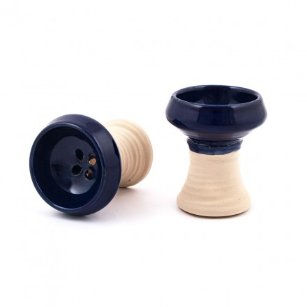 Чаша для кальяна глина Chines Turka (глазурь)