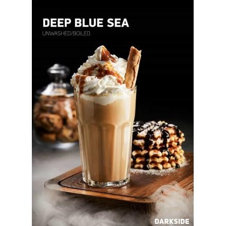 Табак Dark Side Medium Deep Blue Sea 100 грамм (сливочно-карамельный напиток)