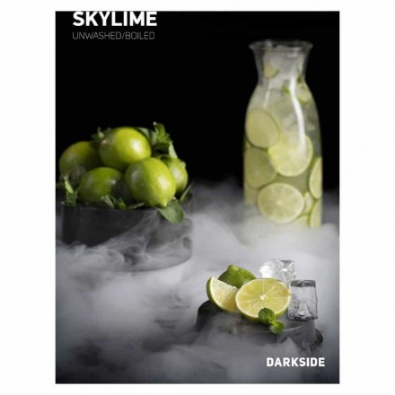 "Табак Dark Side Medium Sky Lime 100 грамм (""небесный"" вкус лайма с мятой)"