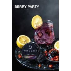 Табак DRUGOY Berry Party 25 грамм (дикие ягоды асаи лимон)