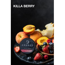 Табак DRUGOY Killa Berry 25 грамм (ягоды персик дыня ваниль)