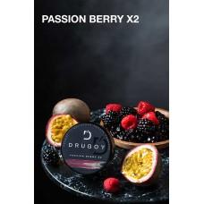 Табак DRUGOY Passion Berry X2 25 грамм (двойная маракуйя ягоды)