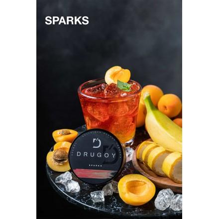 Табак DRUGOY Sparks 25 грамм (гуарана банан абрикос)