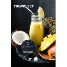 Табак DRUGOY Tropic Set 25 грамм (ананас манго кокос)