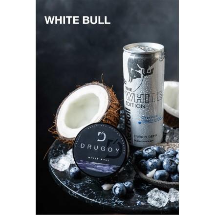 Табак DRUGOY White Bull 100 грамм (ред булл черника кокос)