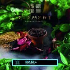 Табак Element Water Basil 100 грамм (базилик)