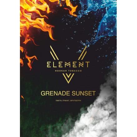 Табак Element V Grenade Sunset 25 грамм (пихта гранат фрутбери)