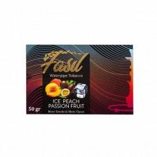 Табак Fasil Ice Peach Passion Fruit 50 грамм (ледяной персик и маракуйя)