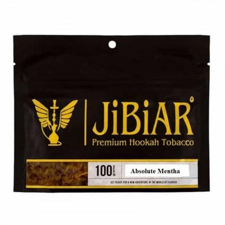 Табак JIBIAR Absolute Menthe 100 грамм (Свежая Мята)