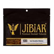 Табак Jibiar Ice Double Melon 100 грамм (дыня арбуз лёд)