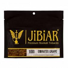 Табак JIBIAR Emirates Grape 100 грамм (Виноград)