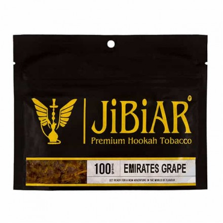 Табак JIBIAR Emirates Grape 100 грамм (Виноград)