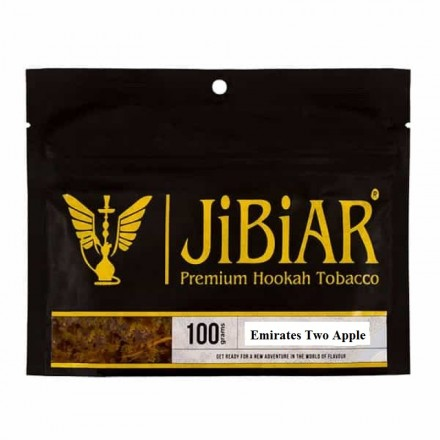 Табак JIBIAR Emirates Two Apples 100 грамм (Яблоко)
