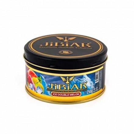 Табак Jibiar Ice Double Melon 250 грамм (лёд дыня арбуз)