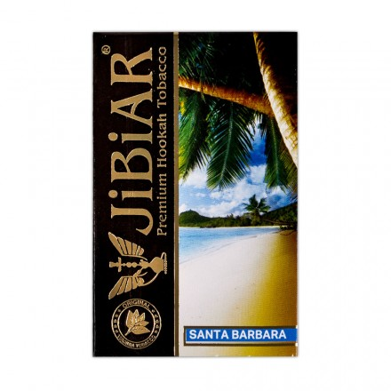 Табак Jibiar Santa Barbara 50 грамм (ментол персик голубика)