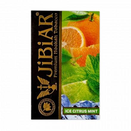 Табак Jibiar Ice Citrus Mint 50 грамм (лёд цитрус мята)